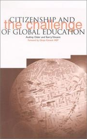 Cover of: Citizenship and the Challenge of Global Education (European Issues in Children's Identity & Citizenship Series)