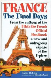 Cover of: France, The Final Days