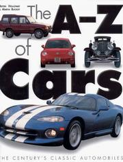 Cover of: A-Z Of Cars