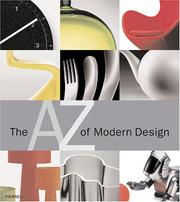 Cover of: The A-Z of Modern Design