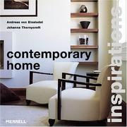 Cover of: Contemporary Home (Inspirations)