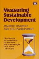 Cover of: Measuring Sustainable Development
