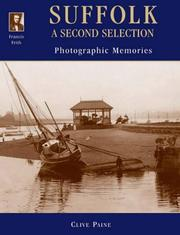 Cover of: Francis Frith's Suffolk (Photographic Memories)