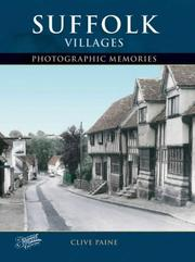 Cover of: Francis Frith's Suffolk Villages (Photographic Memories)
