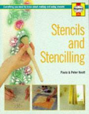 Cover of: Stencils and Stencilling (Haynes Home Decorating)