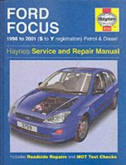 Cover of: Ford Focus Service and Repair Manual (Haynes Service and Repair Manuals)