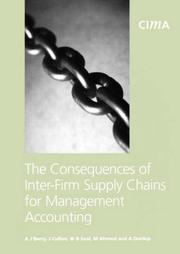 Cover of: Consequences of Inter Firm Chains (CIMA Research)