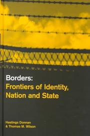 Cover of: Borders