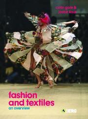 Cover of: Fashion and Textiles