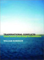 Cover of: Transnational Conflicts