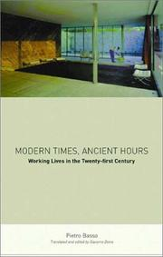 Cover of: Modern Times, Ancient Hours