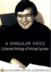 Cover of: A Singular Voice