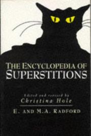 Cover of: Encyclopedia of Superstitions (Helicon Reference Classics)