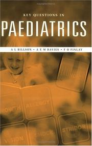 Cover of: KEY QUESTIONS IN PAEDIATRICS (Key Topics)