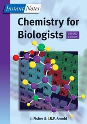 Cover of: Instant Notes in Chemistry for Biologists (Instant Notes)