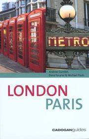 Cover of: London-Paris, 3rd (Country & Regional Guides - Cadogan)