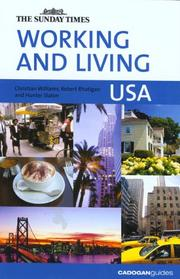 Cover of: Working and Living USA (Working & Living - Cadogan)