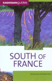 Cover of: South of France, 8th (Country & Regional Guides - Cadogan)