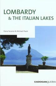 Cover of: Lombardy & the Italian Lakes, 5th (Country & Regional Guides - Cadogan)