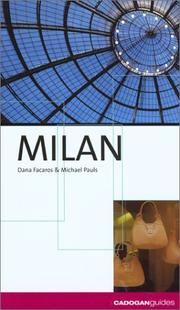 Cover of: Milan (City Guides - Cadogan)