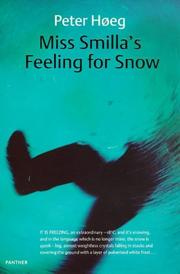Cover of: Miss Smilla's Feeling for Snow