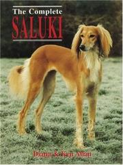 Cover of: THE COMPLETE SALUKI (Book of the Breed)