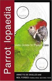 Cover of: Parrotlopaedia