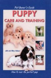 Cover of: Pet Owner's Guide to Puppy Care and Training (Pet Owners Guide)