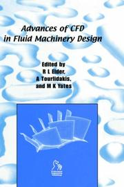 Cover of: Advances of CFD in Fluid Machinery Design (IMechE Seminar Publications)