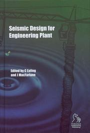 Cover of: Seismic Design for Engineering Plant