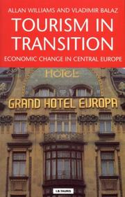 Cover of: Tourism in Transition