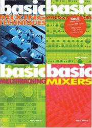 Cover of: Studio Recording Basics A (Basic)