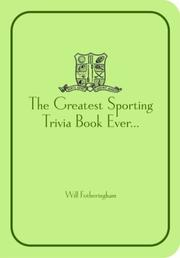 Cover of: Fotheringham's Sporting Trivia