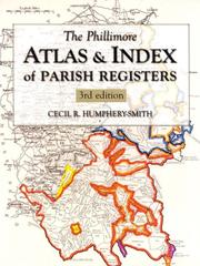 Cover of: Phillimore Atlas and Index of Parish Registers