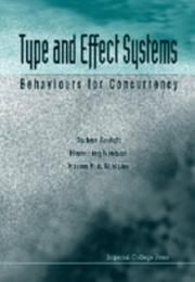 Cover of: Type and Effect Systems