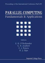 Cover of: Parallel Computing: Fundamentals and Applications