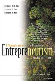 Cover of: Entrepreneurism