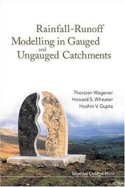 Cover of: Rainfall-Runoff Modelling In Gauged And Ungauged Catchments