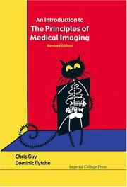 Cover of: Introduction to the Principles of Medical Imaging