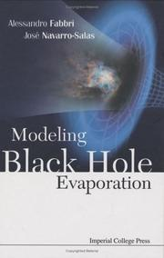 Cover of: Modeling Black Hole Evaporation