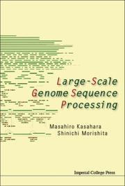 Cover of: Large-scale Genome Sequence Processing