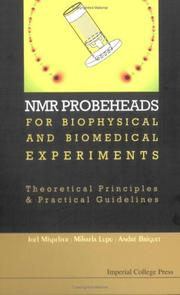 Cover of: Nmr Probeheads for Biophysical And Biomedical Experiments