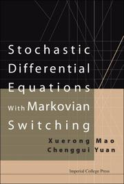 Cover of: Stochastic Differential Equations With Markovian Switching