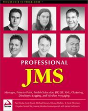 Cover of: Professional JMS