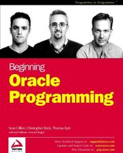 Cover of: Beginning Oracle Programming