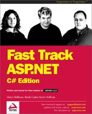 Cover of: Fast Track ASP.NET