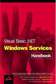 Cover of: Visual Basic .NET Windows Services Handbook