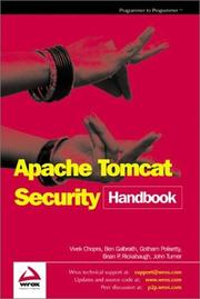 Cover of: Apache Tomcat Security Handbook