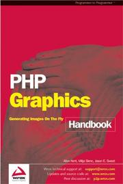 Cover of: PHP Graphics Handbook