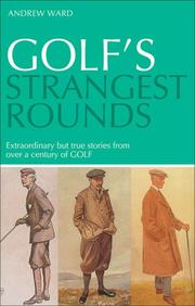 Cover of: Golf's Strangest Rounds